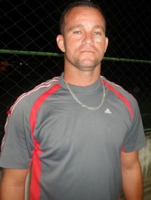 Paulinho Pimentel, atacante do Conilon (Foto: Jean Carlos Fonseca)