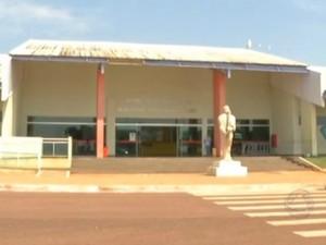 Obras em aeroporto de Rondonópolis foram paralisadas (Foto: Reprodução/TVCA)