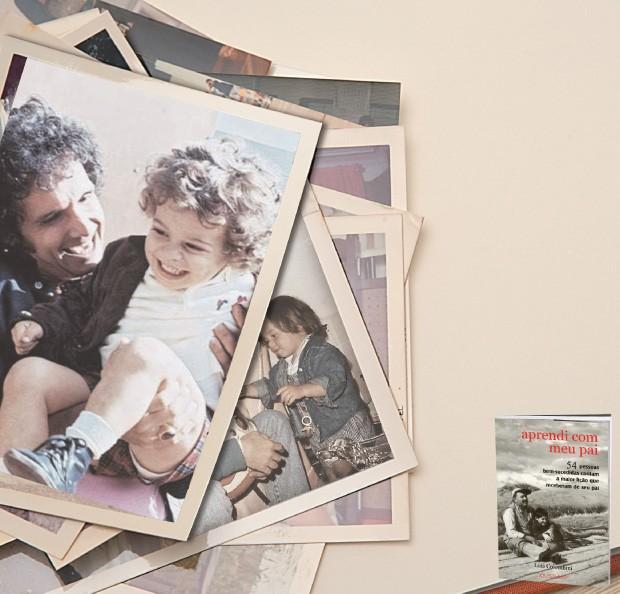 * Luís Colombini é jornalista. Publicou 54 depoimentos no livro Aprendi com meu pai. Com o filho Tales escreveu o livro infantil Abacaecó – Ninguém me entende (Foto: Fotos: arq. pessoal e divulgação)