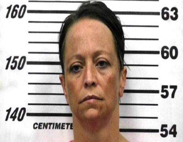Christie Black, roubou US$ 5 mil (R$ 11,8 mil) de seu namorado e escondeu o dinheiro no reto (Foto: Hawkins County Sheriff's Department/Divulgação)