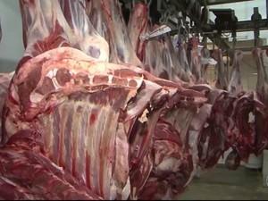 Secretaria de Agricultura diz que carne consumida na Bahia é fiscalizada (Foto: Reprodução/TV Bahia)