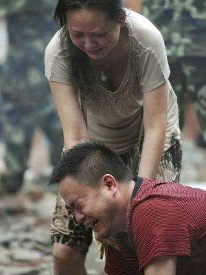 Sobre número de mortos em deslizamento na China (Foto: AP Photo/Xinhua/Xue Yubin)