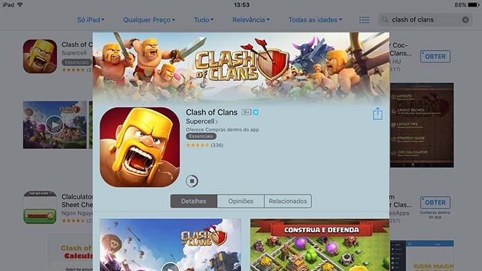 Como fazer o download de Clash of Clans e instalar no Android e iOS