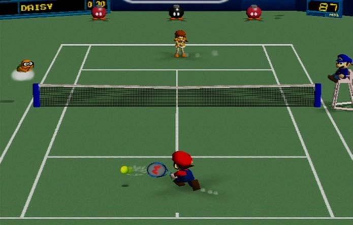 Mario Tennis (Foto: Reprodução) (Foto: Mario Tennis (Foto: Reprodução))