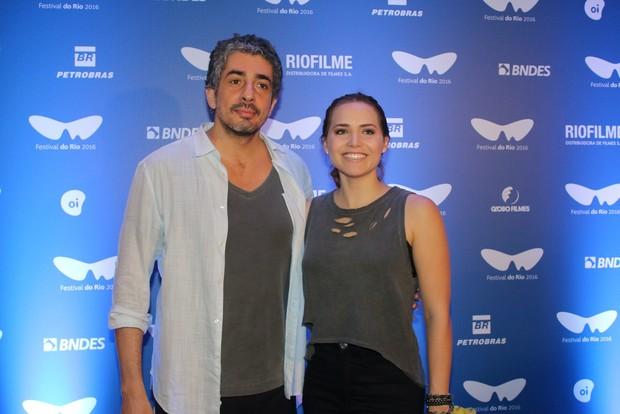 Michel Melamed e Letícia Colin (Foto: Fabio Moreno/Agnews)