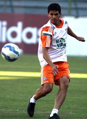 Magno Alves treino do Flu (Foto: NELSON PEREZ/FLUMINENSE F.C.)