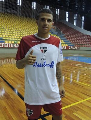 Marco Aurelio; São Paulo/Mogi; Futsal (Foto: Thiago Fidelix)