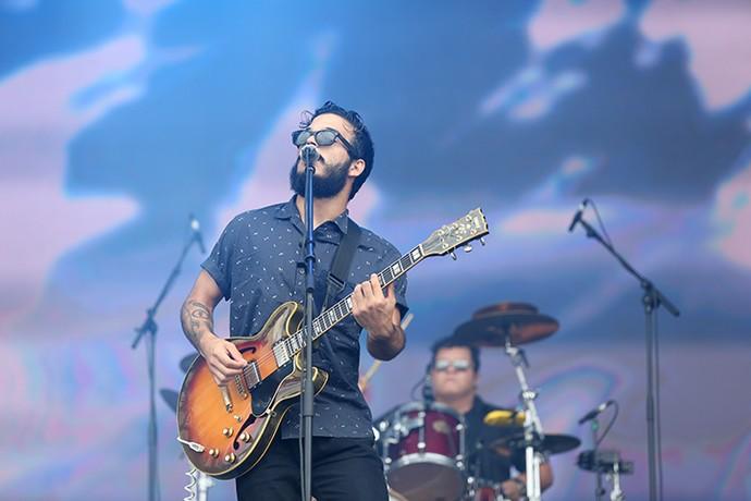 Criston Lucas deixou a timidez de lado no Lollapalooza 2016 (Foto: Carol Caminha/Gshow)
