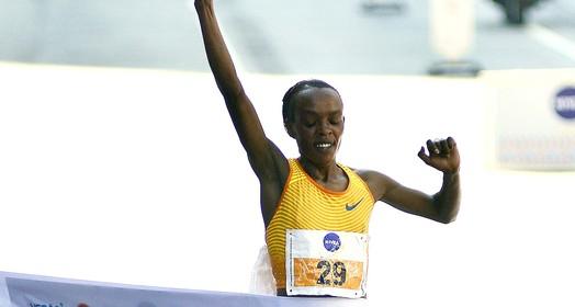 Africanos dominam a corrida de São Silvestre e Jemima Sumgong quebra o recorde da prova (Marcos Ribolli)