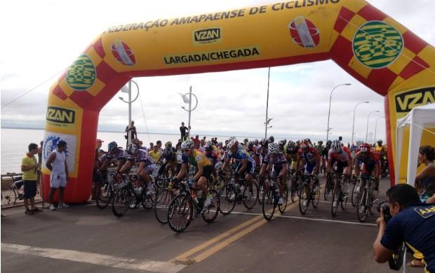 são esperados cerca de 300 ciclistas (Foto: Celso Kato/Rede Amazônica)