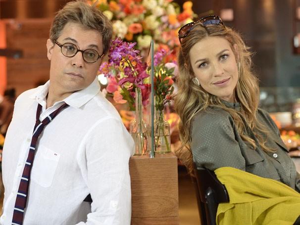 Edson Celulari e Luana Piovani formarão um par romântico  (Foto: Divulgação/TV Globo)