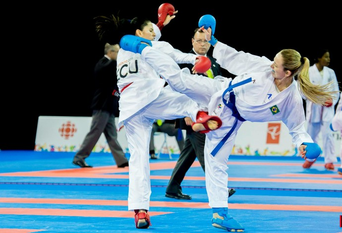 Natália Brozulatto foi campeã dos Jogos Pan-Americanos em Toronto (Foto: Geraldo de Paula)