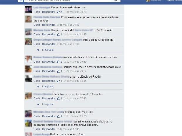 Boiada era composta por mil cabeças, segundo o Idaron de Alto Alegre (Foto: Facebook/ Reprodução)