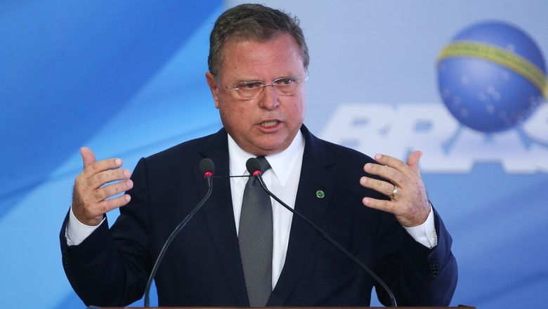 O ministro da Agricultura, Blairo Maggi (Foto: Antonio Cruz/Agência Brasil)