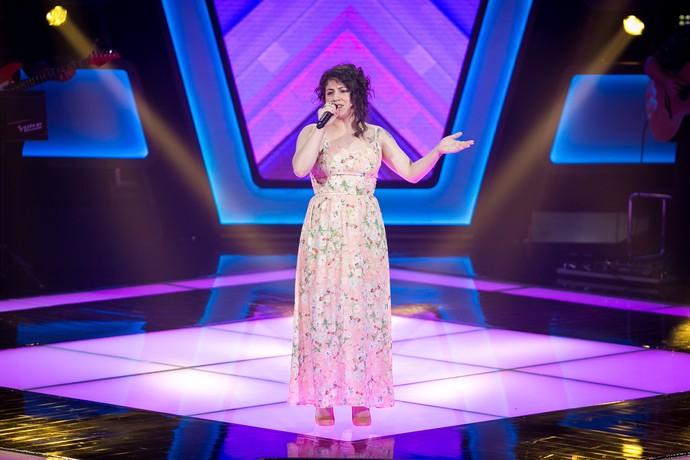 Aretha Lima mostra seu pontencial nas Audições do 'The Voice Brasil' (Foto: Isabella Pinheiro/Gshow)