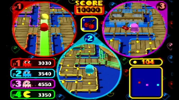 Pac-Man Vs. trouxe uma ideia inovadora e divertida para o jogo (Foto: The Next Level)