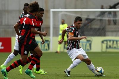 Marquinho Fluminense x Flamengo (Foto: Nelson Perez/Fluminense F.C.)