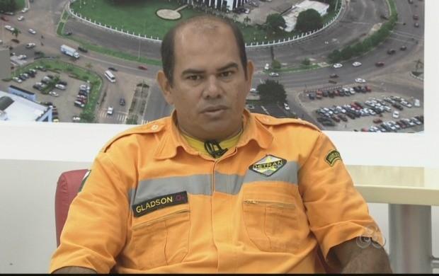 Chefe da divisão de fiscalização do Detran-RR  foi o entrevistado especial do jornal (Foto: Bom Dia Amazônia)