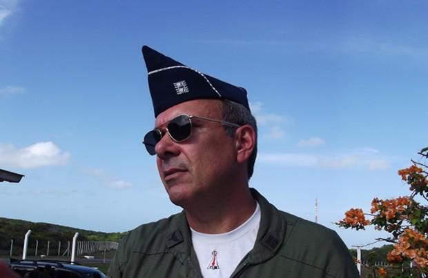 Coronel Marco Resende avaliou o lançamento como um sucesso (Foto: Fernanda Zauli/G1)