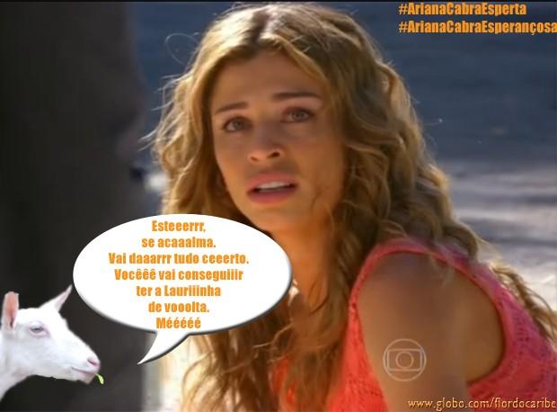 Ester (Foto: Flor do Caribe/TV Globo)