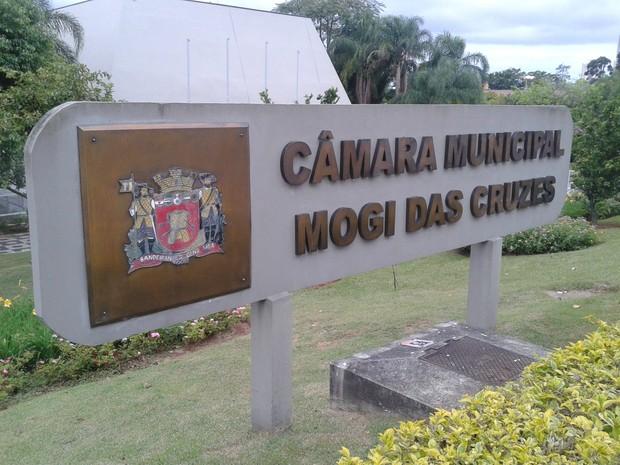 Câmara Municipal de Mogi das Cruzes  (Foto: Douglas Pires / G1)