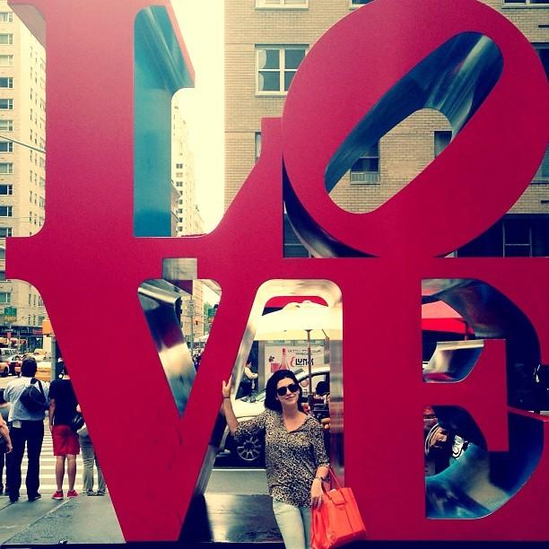 Fernanda Paes Leme em Nova York (Foto: Instagram/ Reprodução)
