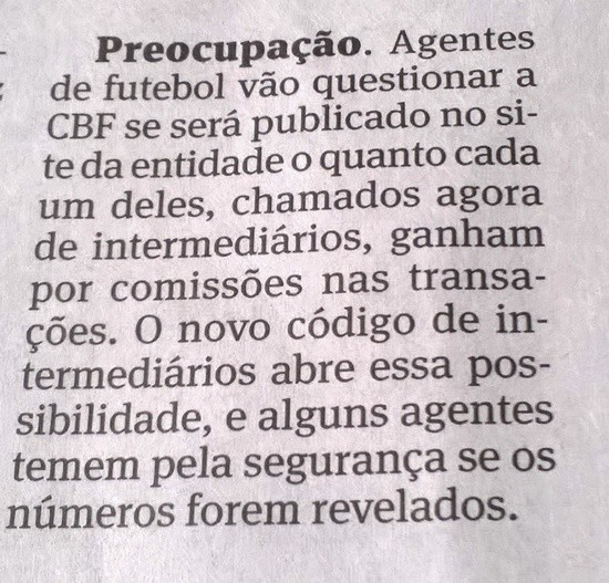 Blog Torcida Coritiba - Folha S. Paulo 26-03-2016 intermediários