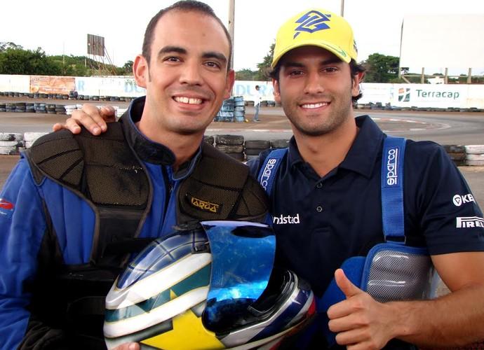 Lucena e Nasr nas Seis Horas de Brasília (Foto: arquivo pessoal)