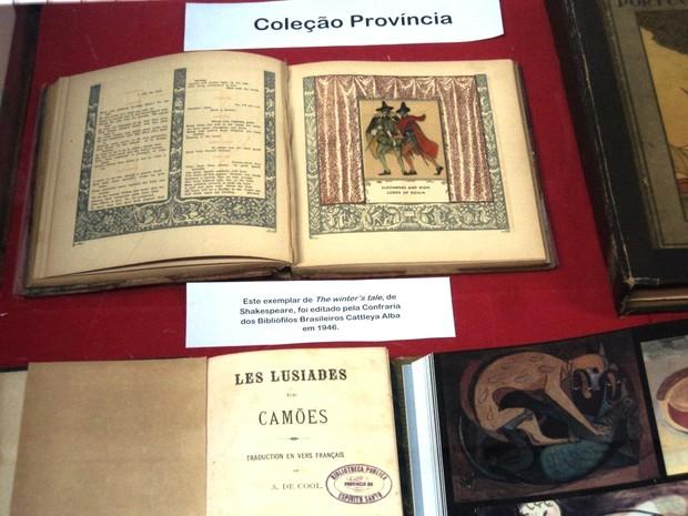 A Biblioteca Pública do Espírito Santo abre exposição de obras raras (Foto: Assessoria de Comunicação/Secult)