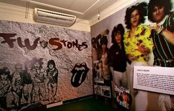 Sede do Flu recebe exposição para contar relação com os Rolling Stones