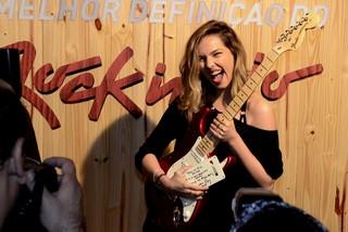 Tainá Muller no Rock in Rio (Foto: Roberto Teixeira / EGO)
