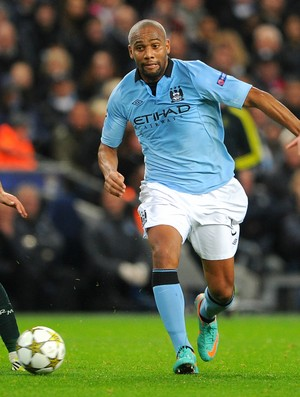 Maicon Manchester City Real Madrid (Foto: Getty Images)