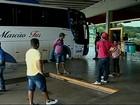 Ônibus irregulares são apreendidos durante fiscalização em Araxá