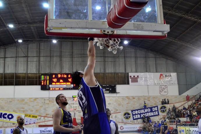 São José Basquete X Macaé Basquete NBB (Foto: Danilo Sardinha/GloboEsporte.com)