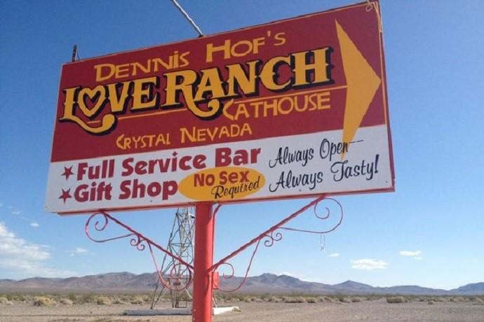Dennis Hof's Love Ranch, onde Lamar Odom foi encontrado (Foto: Reprodução / Facebook)