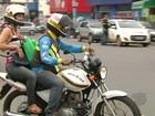 Confira valores de tarifas de mototáxi divididas por zonas em Santarém