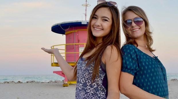 Nina e sua mãe, Rose Negre, abriram a agência de turismo receptivo Hey Florida Travel (Foto: Divulgação)