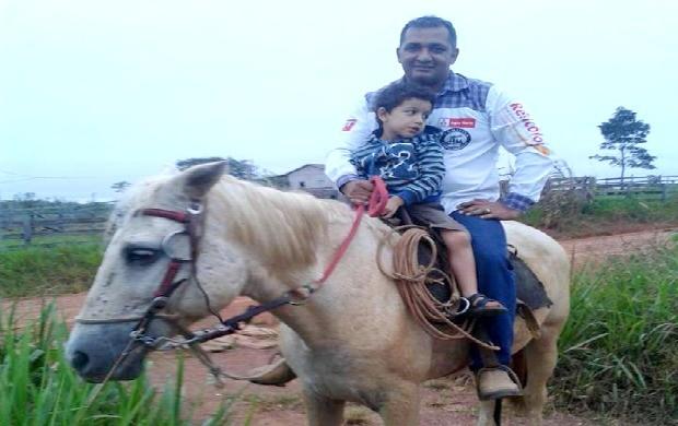 Luízio revelou que leva as atividades no campo como um passatempo (Foto: Luízio Oliveira/Arquivo Pessoal)