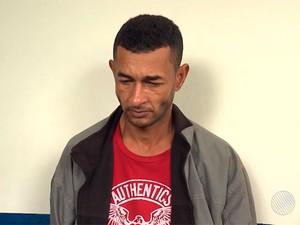 Tio do rapaz de 19 anos confessou o crime e foi preso na Bahia (Foto: Reprodução/TV Bahia)