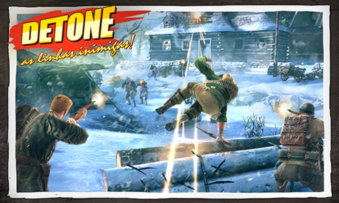 Brothers in Arms é um game de ação para Windows Phone inspirado na Segunda Guerra Mundial (Foto: Divulgação/Windows Phone Store)