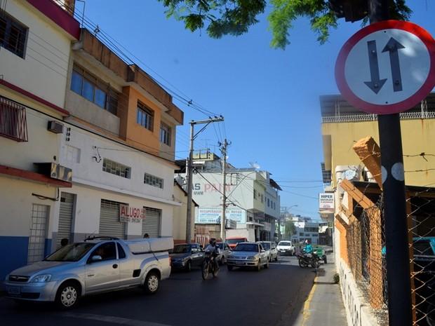 Via mão dupla Formiga (Foto: Prefeitura de Formiga/Divulgação)