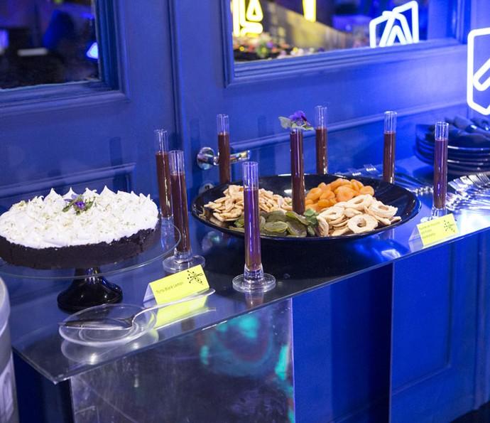 As sobremesas deram um tom a mais na decoração (Foto: Fábio Rocha/Gshow)