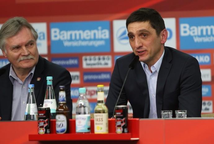 Tayfun Korkut Bayer Leverkusen (Foto: Reprodução/Twitter)