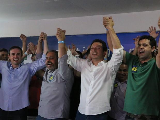 Nelson Marchezan Junior (PSDB) foi eleito prefeito de Porto Alegre (Foto: Rafaella Fraga/G1)