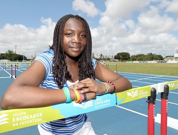 Andrea Aka é filha do embaixador marfinense no Brasil (Foto: Wander Barreto/Inovafoto/COB)