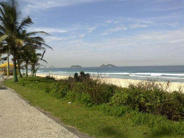 15 praias estarão liberadas para banho neste fim de semana, no Rio (Foto: Perla Rodrigues / G1)