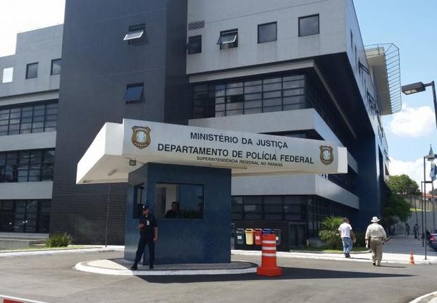 Departamento de Polícia Federal em Curitiba, centro de operações da Lava Jato (Foto: André Richter/Enviado Especial /Agência Brasil/EBC)
