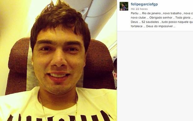 Felipe ex-jogador do Náutico viagem (Foto: Reprodução / Instagram)