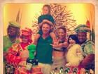 Cássio Reis e Danielle Winits comemoram aniversário do filho