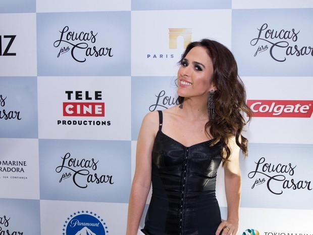 Tatá Werneck em pré-estreia em São Paulo (Foto: Marcelo Brammer / AgNews)